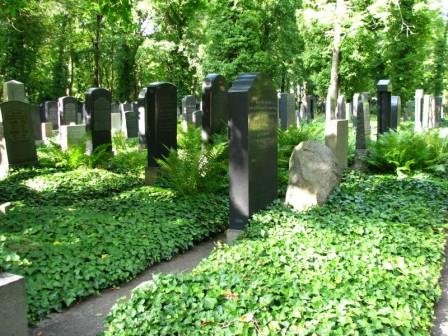 Еврейское кладбище в берлине